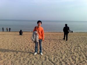 葫芦岛海边